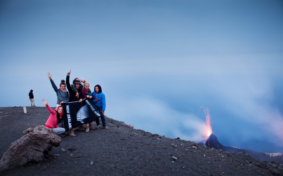 Accelerating Life… on a Volcano